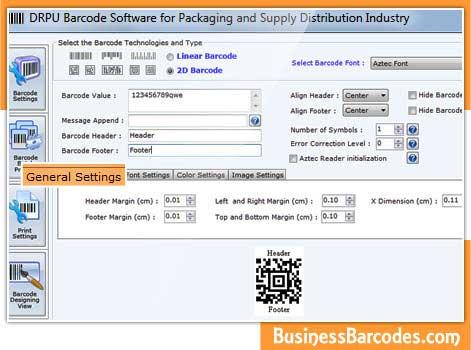 Supply industry label designing program